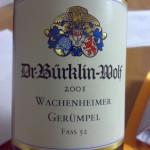 Dr. Bürklin-Wolf, Pfalz