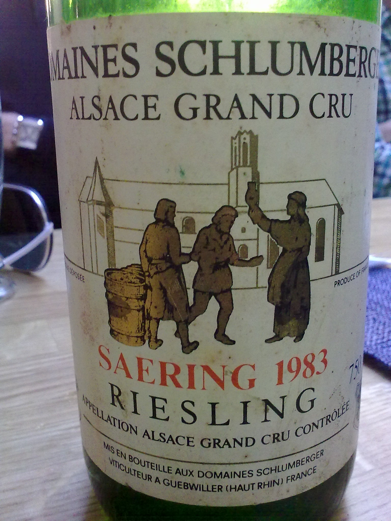 A Tasting Note 1983 Domaines Schlumberger Saering